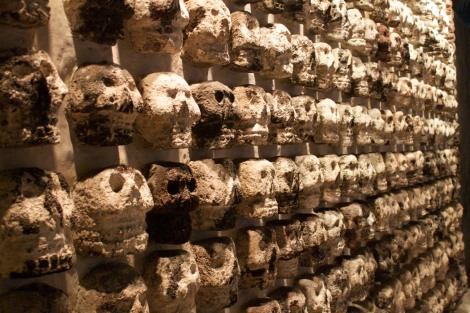the wall of skulls, Templo Mayor