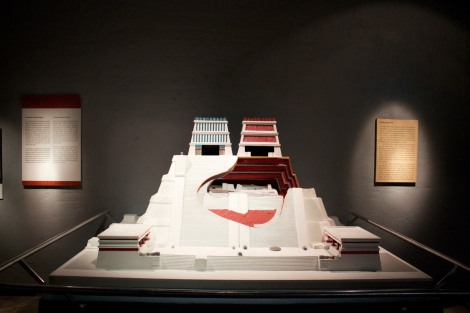 model of Templo Mayor