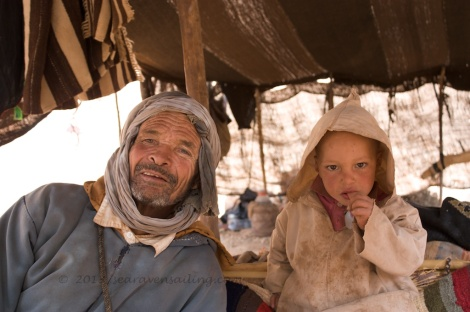 a berber family who helped us find our way