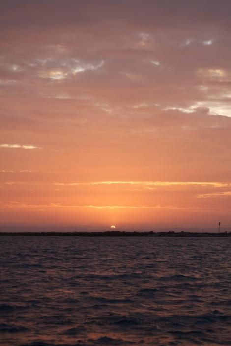a final La Paz sunset