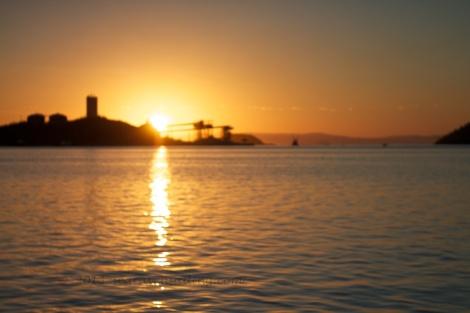 sunrise over Guaymas, Sonora