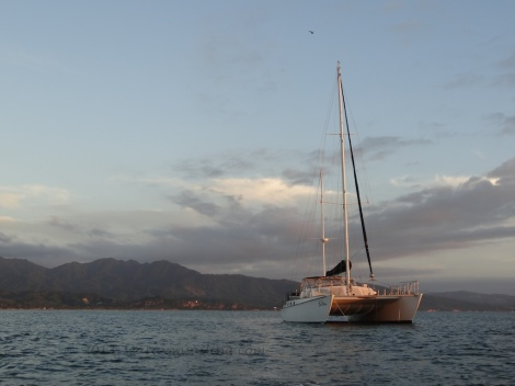 anchored in Bahia Mantenchen