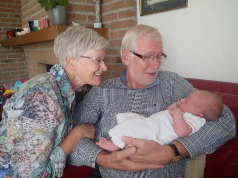 Alma with Oma and Opa